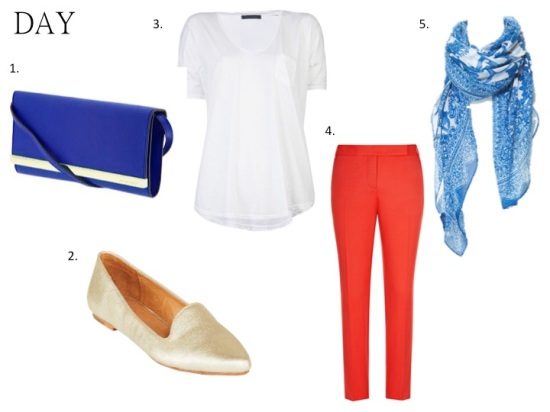 style guide - day look white tee shirt