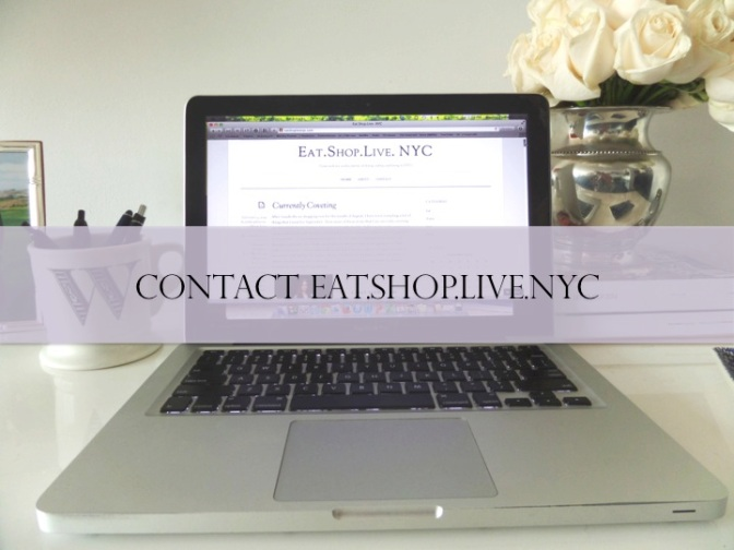 Contact Eat.Shop.Live.NYC