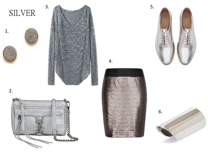 Color Obsession: Silver