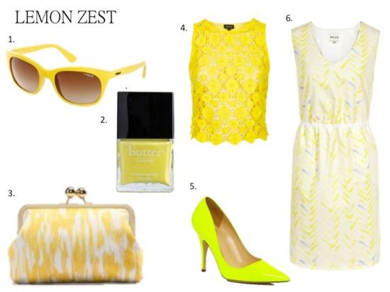 Color of the Week: Lemon Zest
