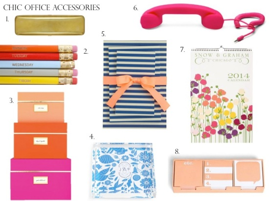 Chic Accessories For The Office