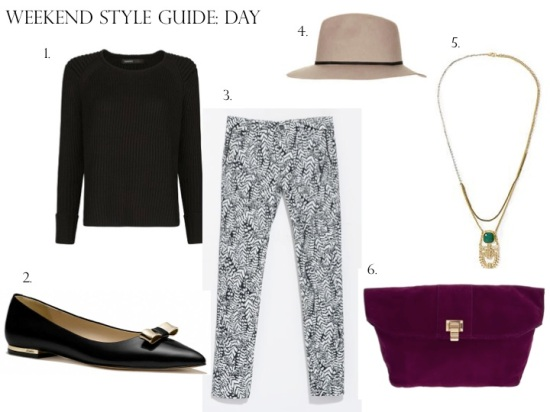 Weekend Style Guide: Day to Night