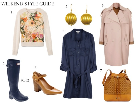 Weekend Style For a Rainy Day