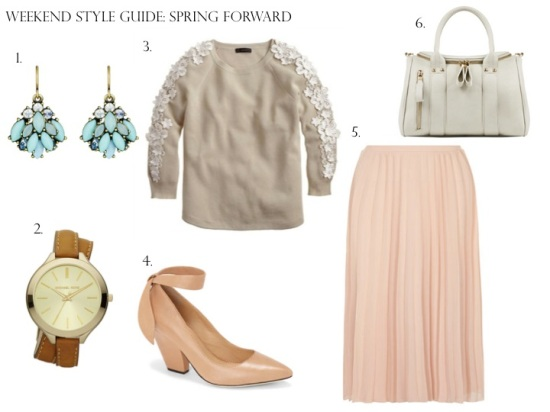 Weekend Style Guide: Spring Forward