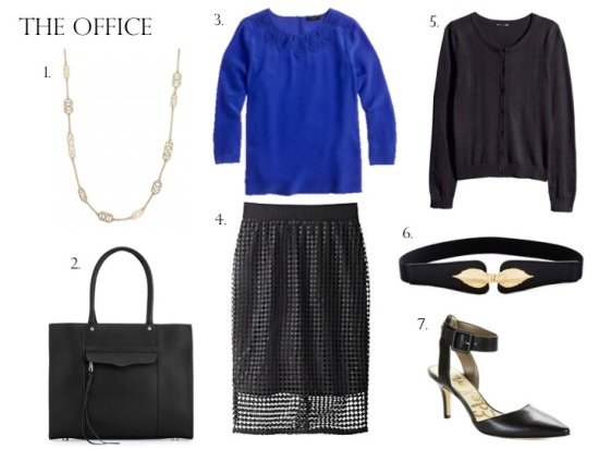 Day to Night Style: The Office