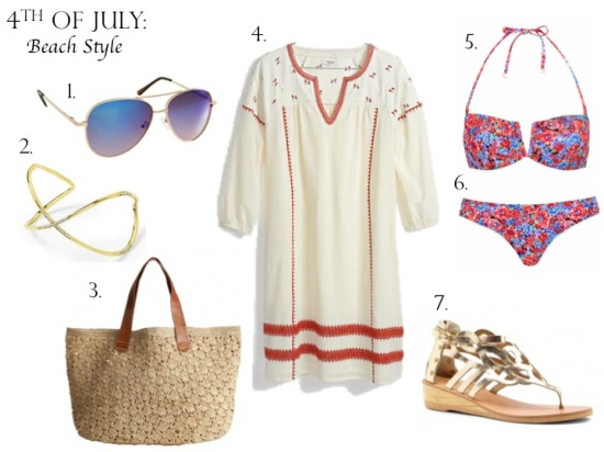 4th of July Style: Beach