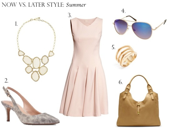 Now vs. Later Style: Summer
