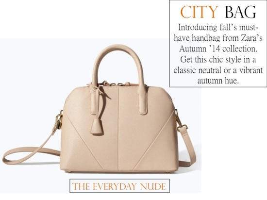 The Fall Must-Have: Zara's City Bag