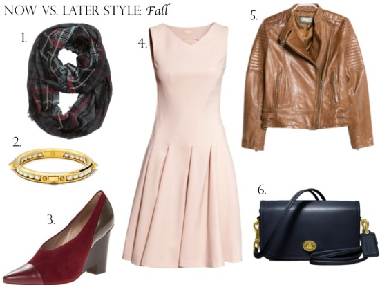 Now vs. Later Style: Fall