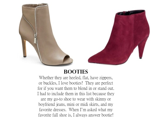 Fall 2014 Shoe Trends