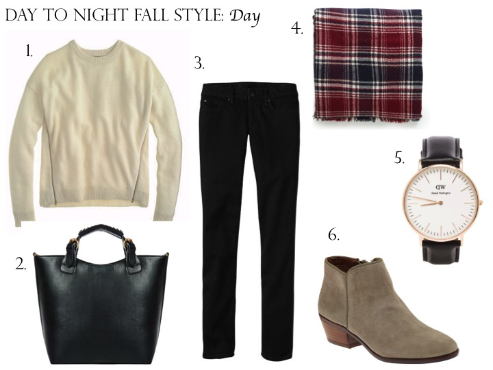 Day to NIght Style: Fall Sweater Day