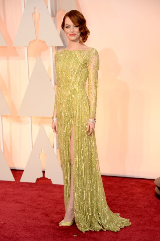 Oscars 2015 Best Dressed List - Emma Stone