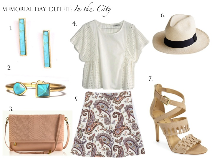 Memorial Day Outfit: In the City