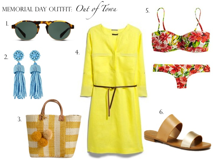 Memorial Day Outfit: Out of Town
