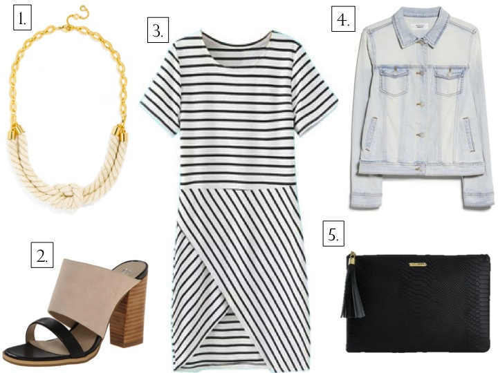 Currently Coveting: Black & White Stripes