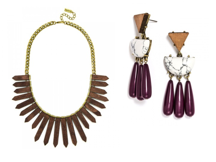 Currently Coveting: BaubleBar Embellished Wood Collection