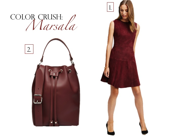 Color Crush: Marsala | www.eatshoplivenyc.com