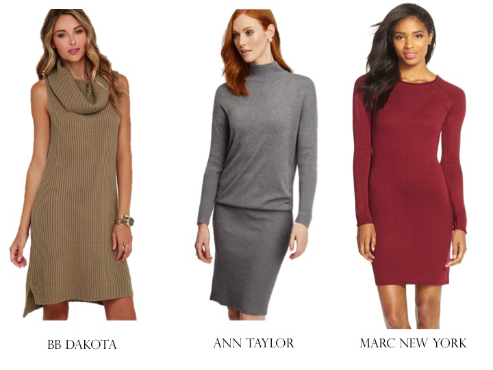 Currently Coveting: The Sweater Dress