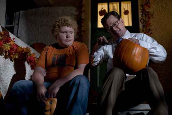 BRETT KELLY as Charlie Corrigan and DYLAN BAKER as Steven Wilkins in Warner Bros. Pictures and Legendary PicturesÕ horror thriller ÒTrick Ôr Treat,Ó distributed by Warner Bros. Pictures. PHOTOGRAPHS TO BE USED SOLELY FOR ADVERTISING, PROMOTION, PUBLICITY OR REVIEWS OF THIS SPECIFIC MOTION PICTURE AND TO REMAIN THE PROPERTY OF THE STUDIO. NOT FOR SALE OR REDISTRIBUTION.