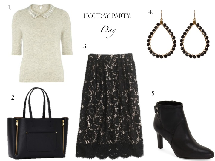 Day to Night Office Holiday Party Outfit