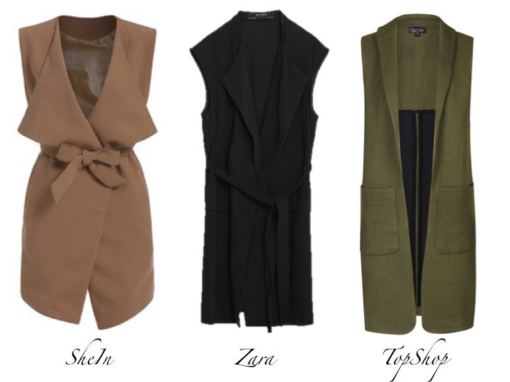 Currently Coveting: Sleeveless Jacket