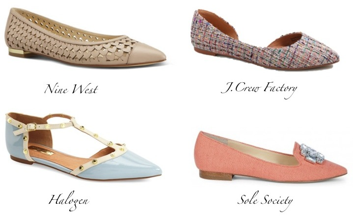 Spring Shoe Trend: Pointed Flats