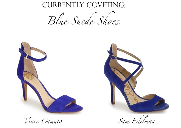 Currently Coveting: Blue Suede Shoes | www.eatshoplivenyc.com