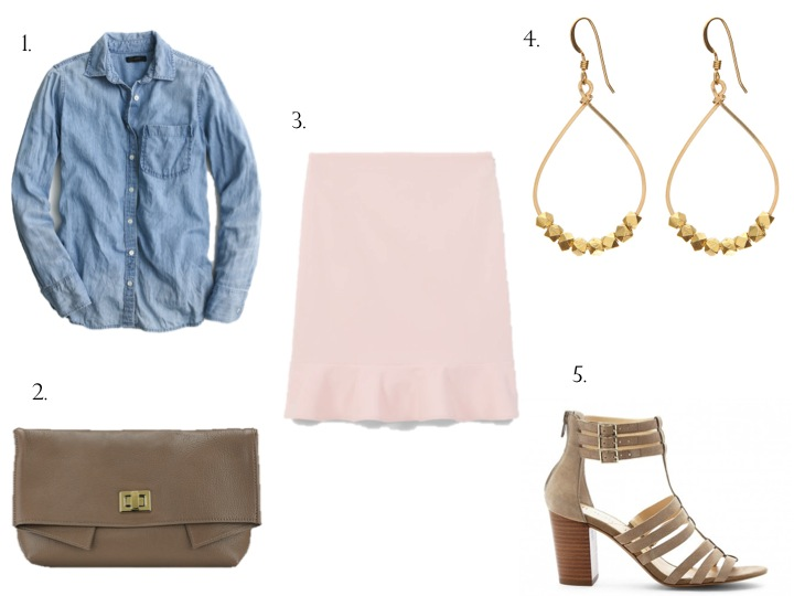 3 Ways to Style A Chambray Shirt