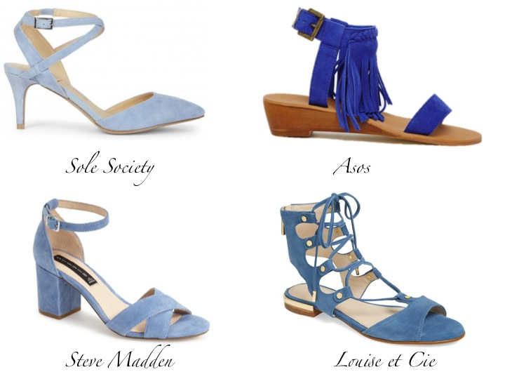Currently Coveting: Blue Suede Shoes