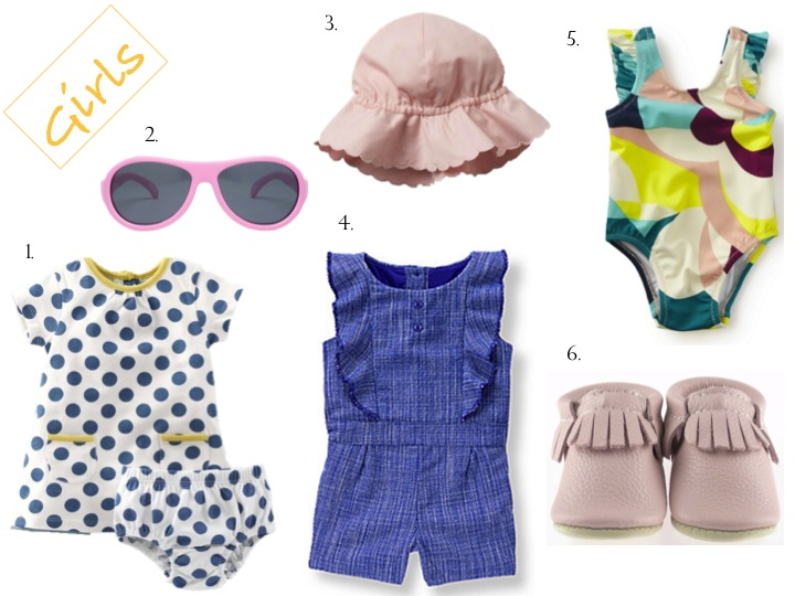 Shopping Guide For Your Little One