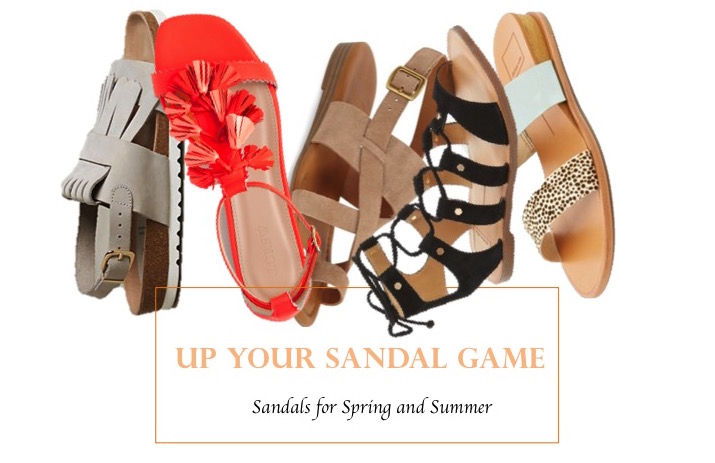 Sandals for Spring and Summer