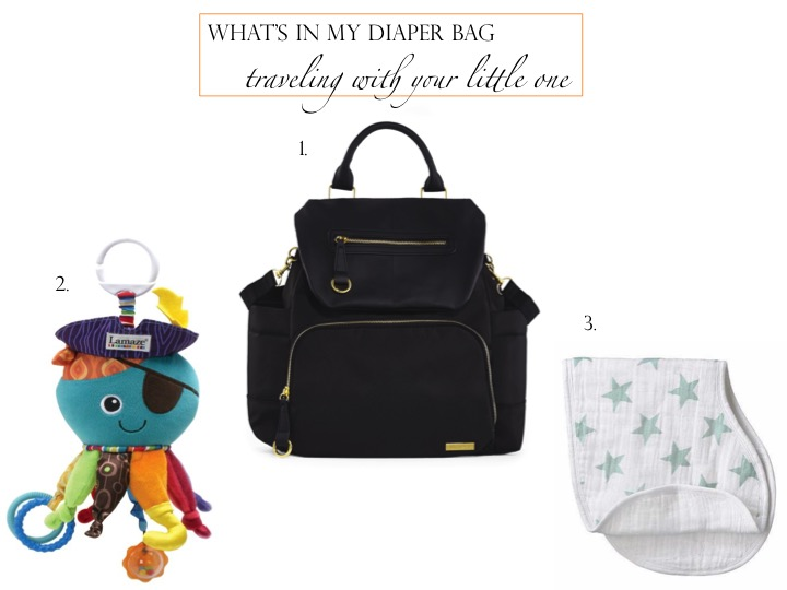 My Diaper Bag Travel Essentials
