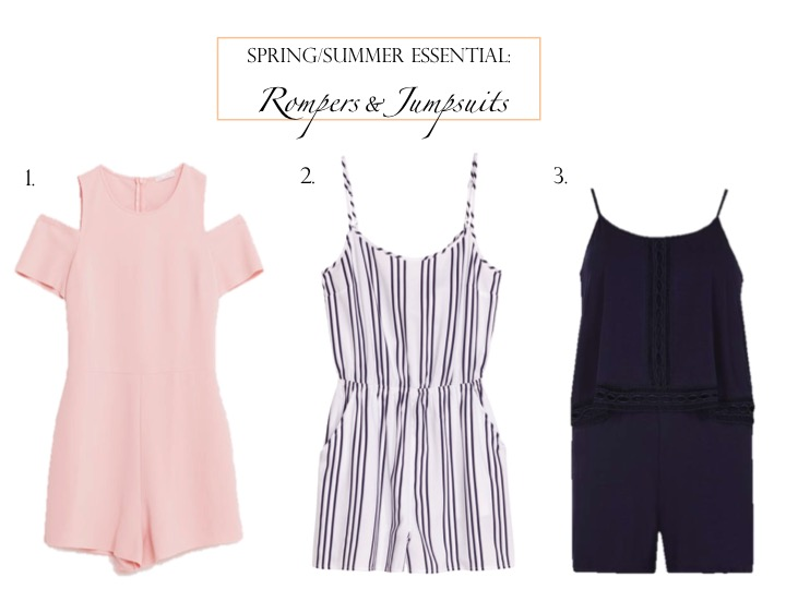 Spring/Summer Essentials: Rompers & Jumpsuits