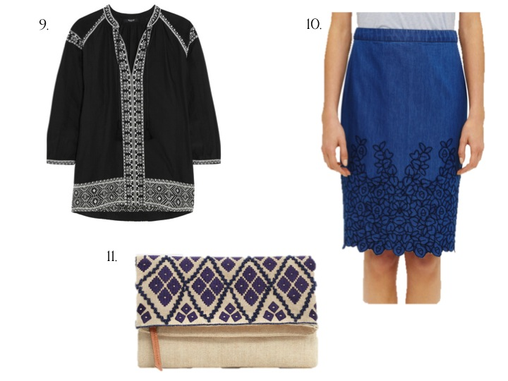 Currently Coveting: Embroidered Details