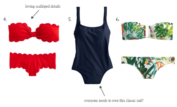 Currently Coveting: J.Crew Swimwear