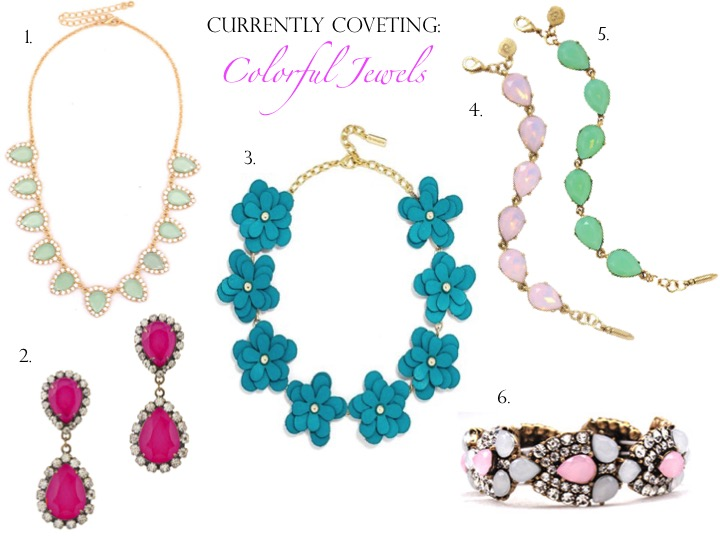 Currently Coveting: Colorful Jewels