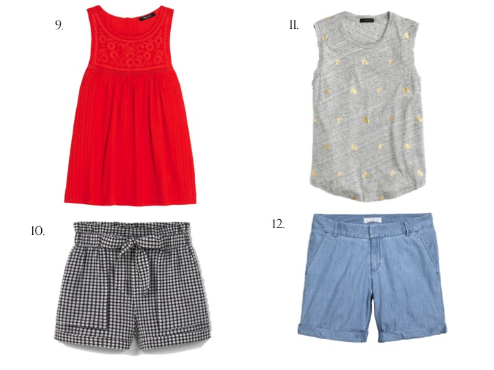 Summer Staple: Shorts & Shirt Combos
