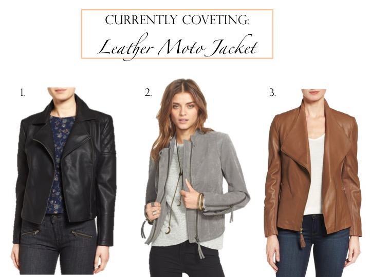 Currently Coveting: Leather Moto Jacket